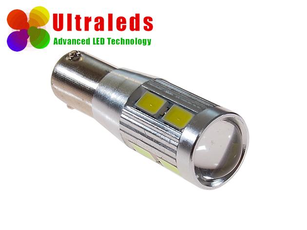 Rewelacyjna żarówka LED canbus H6W, BAX9S